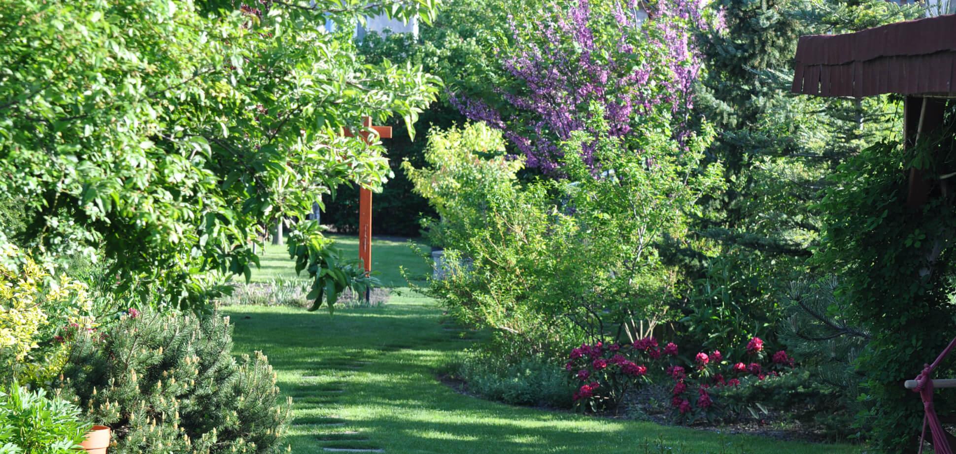 Záhrada v Slovenskom Grobe
